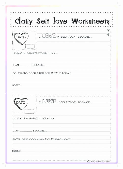 Self Esteem Worksheets for Youth Self Esteem Confidence therapy Worksheets Psychology tools