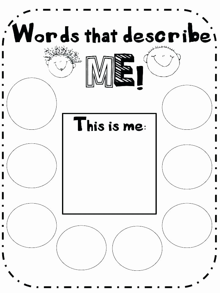 Self Esteem Worksheets for Youth Self Esteem Printable Worksheets