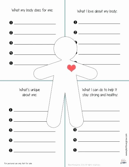 Self Esteem Worksheets Girls Building Self Esteem Worksheets Pdf Critical Thinking A