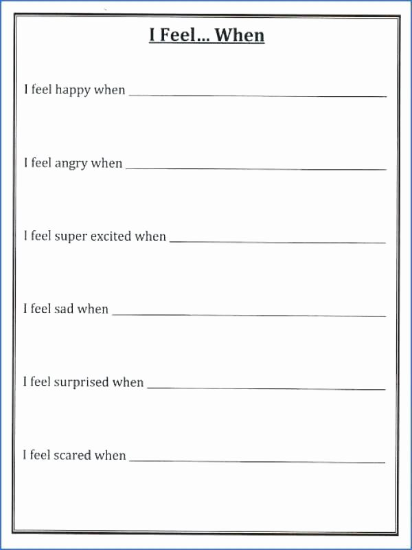 Self Esteem Worksheets Girls Kids Self Esteem Worksheets Worksheet for Building In