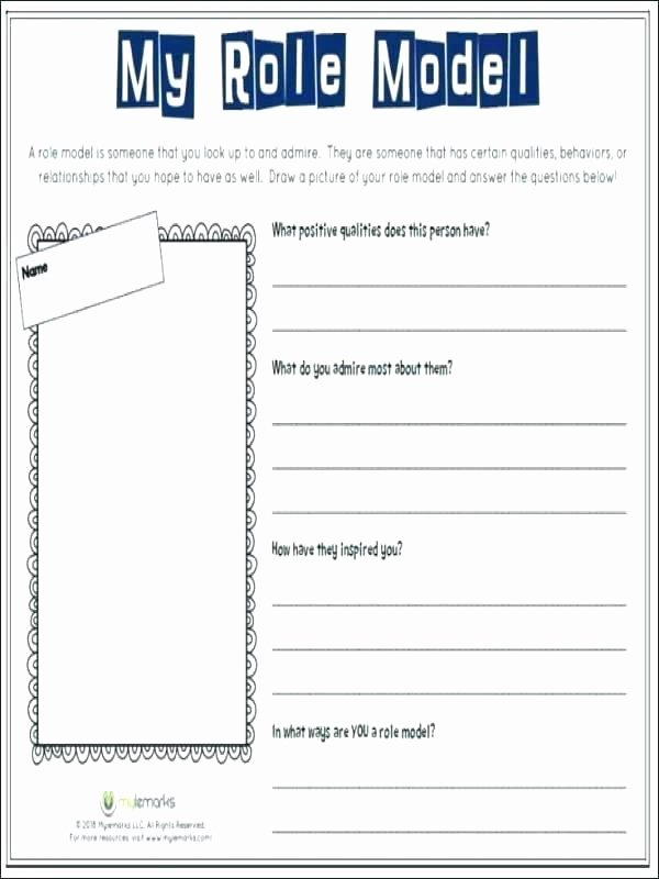 Self Esteem Worksheets Girls Self Image Worksheets