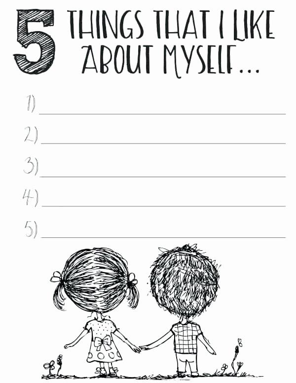 Self Esteem Worksheets Pdf Best Of Yoga Worksheets for Kids Free Printable Self Esteem