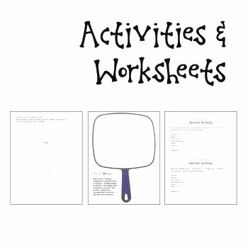 Self Respect Worksheets Positive Self Esteem Worksheets Worth Over Ing Low