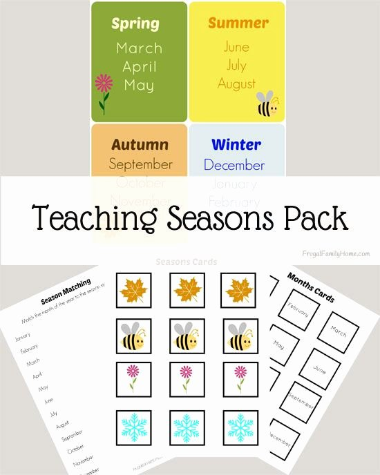 Sense Of Smell Worksheets 60 Seasons Worksheets for Kindergarten Blue History