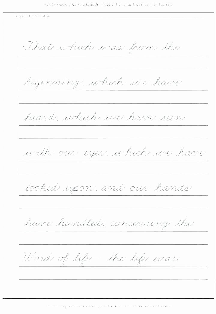 Sense Of Taste Worksheets Beautiful Handwriting Joint Worksheets Beautiful Handwriting
