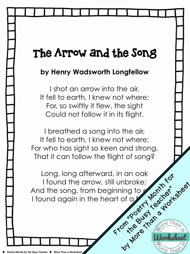 Sensory Detail Worksheet 5th Grade Poetry Worksheets