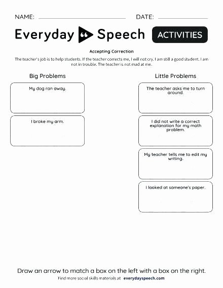 Sentence Completion Worksheets for Adults Self Esteem Worksheets for Teens Download Free D Identity