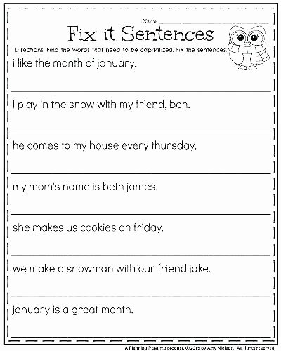 Sentence Fluency Worksheets Interrogative Sentences Worksheets Declarative Sentence