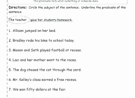 Sentence Fluency Worksheets Number Sentence Worksheets 2nd Grade