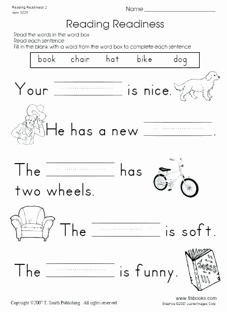 Sentence Fluency Worksheets Printable Grade Reading Worksheets Download them and Try to