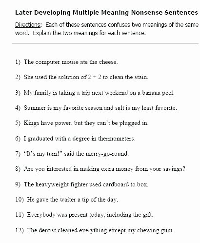 Sentence Sequencing Worksheets Best Of Developing Sentences Worksheets