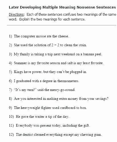 Sentence Sequencing Worksheets Best Of Developing Sentences Worksheets