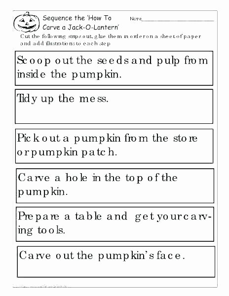 Sentence Sequencing Worksheets Inspirational Number Series Worksheets