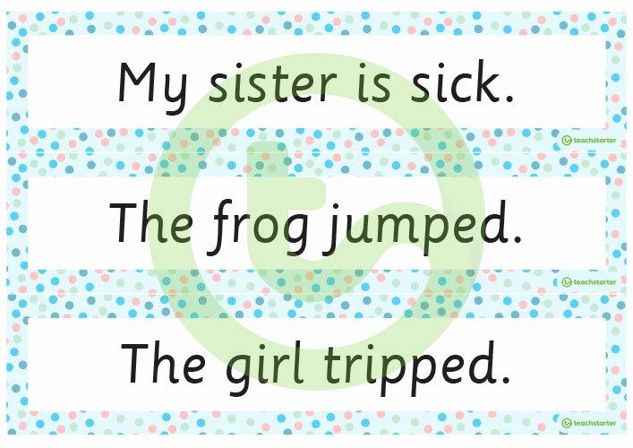 Sentence Starters for Kindergarten Inspirational Sentence for My Sister