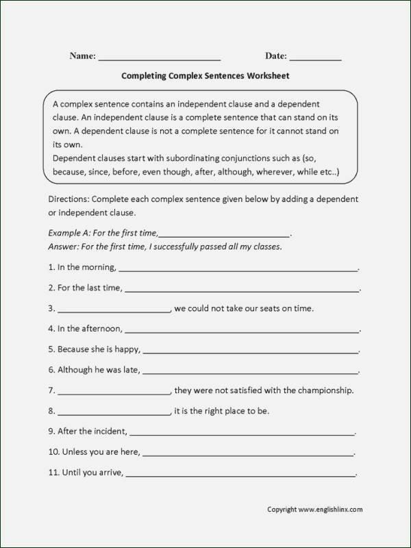 Sentence Stretching Worksheets Plete Sentence Worksheets