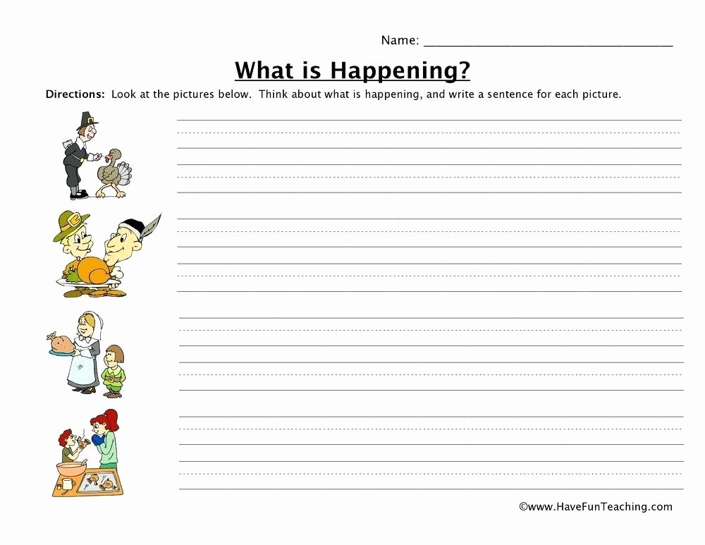 Sentence Stretching Worksheets Writing Worksheets for Second Grade – Openlayers