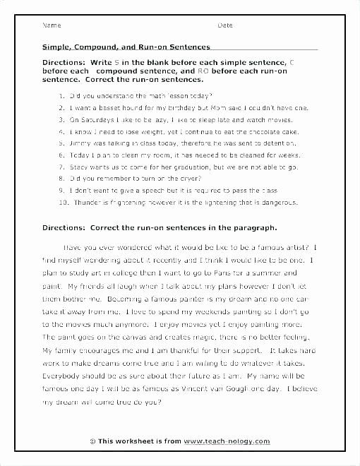 Sentence Worksheets First Grade Lesson Word order Training Word order In English Sentences