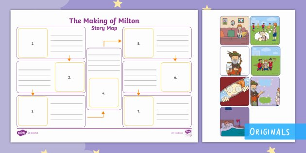 Sequence events Worksheets the Making Of Milton Story Map Worksheet Worksheet