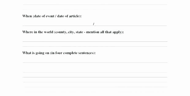 Sequence Of events Worksheet About Current events Worksheet event New for Students