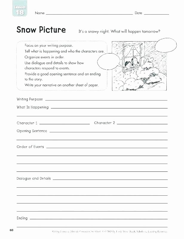 Sequence Of events Worksheet Picture Story Writing Worksheets Creative Writing for Kids