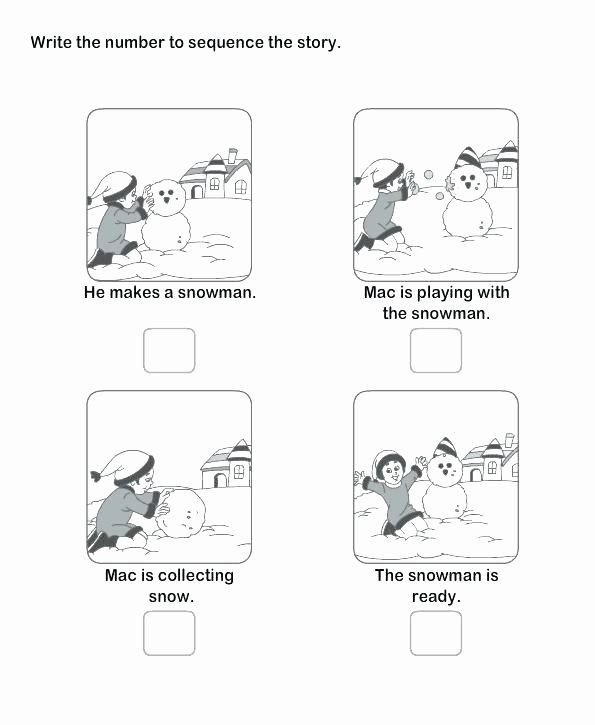 Sequence Of events Worksheet Sequencing Worksheets Grade events Free Printable 4th
