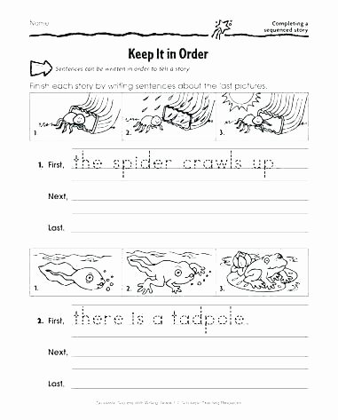 Sequence Story Worksheets Number Sentence Worksheets 2nd Grade Number Sentence