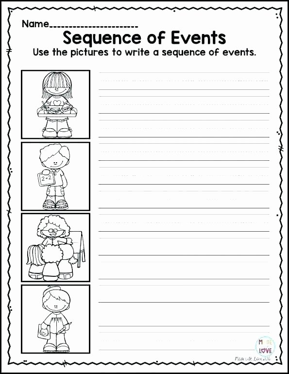 Sequence Story Worksheets Sequence events Worksheets Grade Spelling Ideas