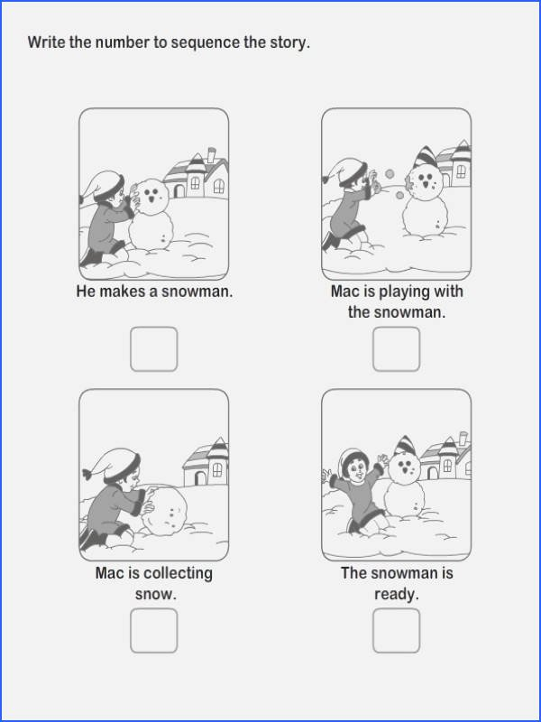 Sequence Story Worksheets Sequencing Worksheets Kindergarten – 7th Grade Math Worksheets