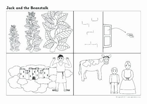 Sequence Story Worksheets Worksheets Jack and the Beanstalk Sequencing Worksheets