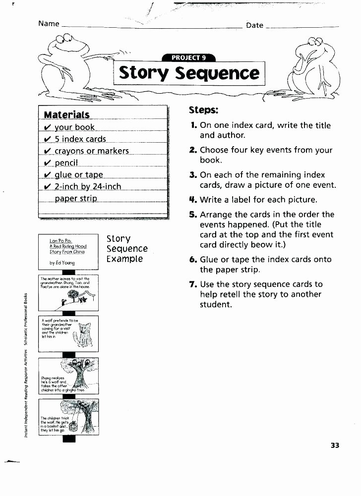 Sequence Worksheets 2nd Grade Beautiful Sequencing Worksheets for Graders events Grade 4 Sequence
