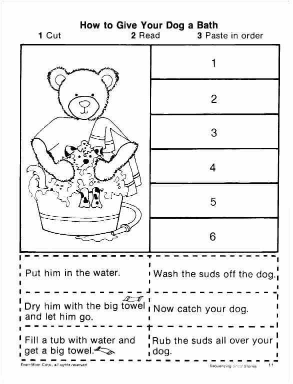 Sequence Worksheets 2nd Grade Elegant Reading Prehension Sequencing Worksheets Grade 3rd Grade