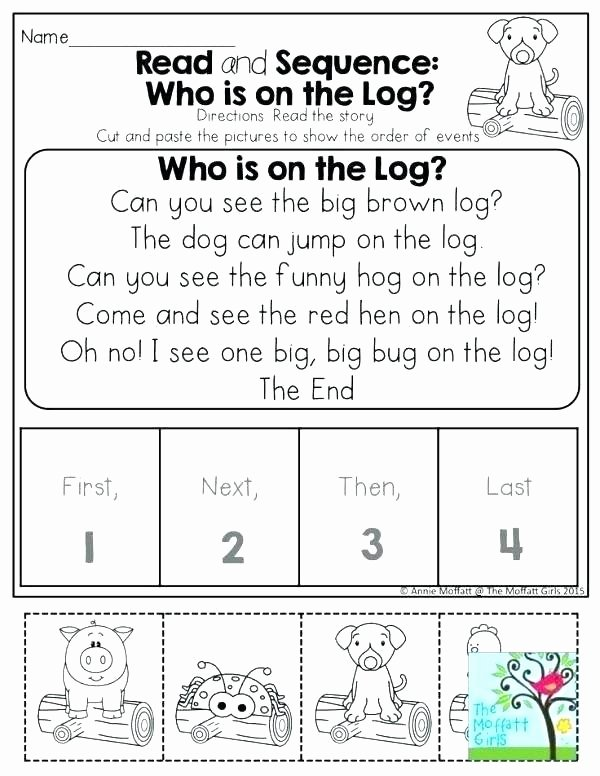 Sequence Worksheets 2nd Grade Fresh Sequencing Worksheets Grade for Educations Printable