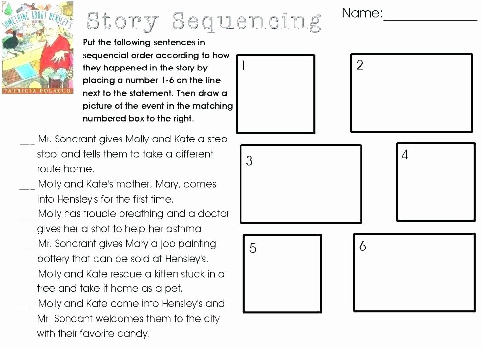 Sequence Worksheets 2nd Grade Inspirational Sequencing Activities Worksheet for Kindergarten Pumpkin
