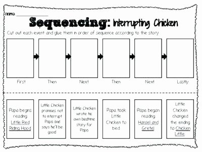 Sequence Worksheets 2nd Grade Unique Kindergarten Sequencing Worksheet Activities Cut and Paste