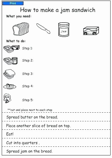 Sequence Worksheets 3rd Grade First Grade Sequencing Worksheets