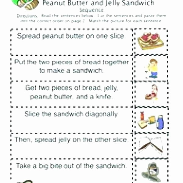 Sequence Worksheets 3rd Grade Sequencing events Worksheets for Grade 3
