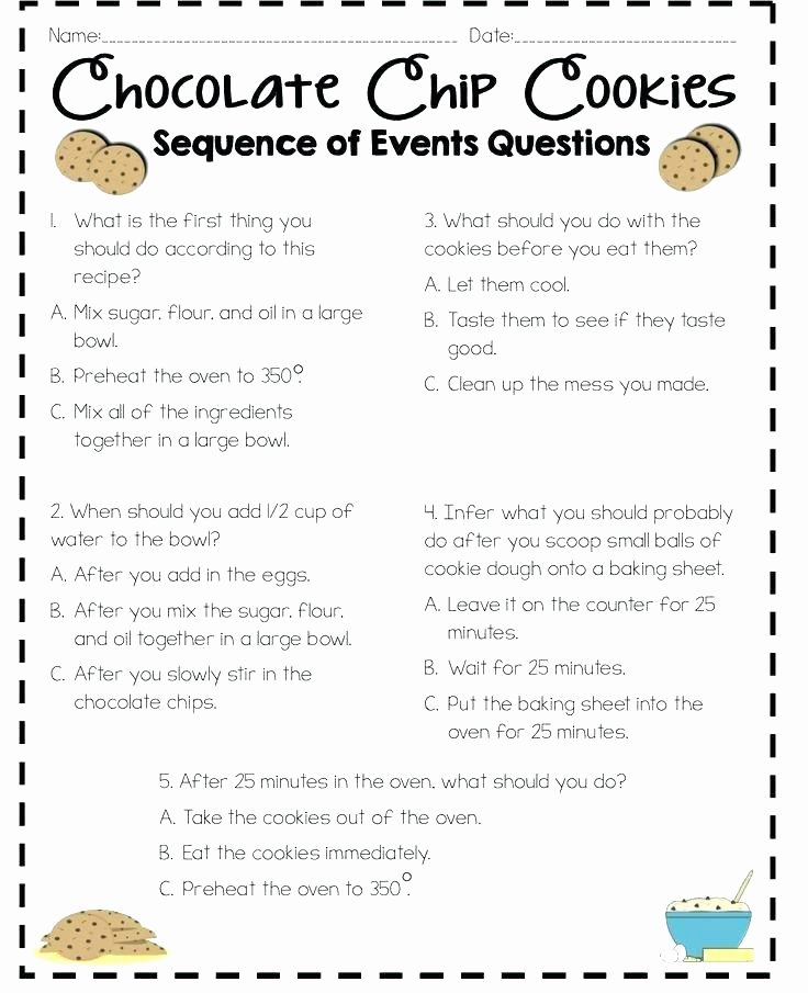 Sequence Worksheets 5th Grade Sequencing Worksheets 5th Grade
