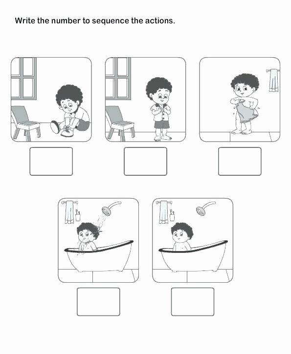 Sequence Worksheets for 1st Grade Printable English Worksheets for 1st Grade Snapshot Image