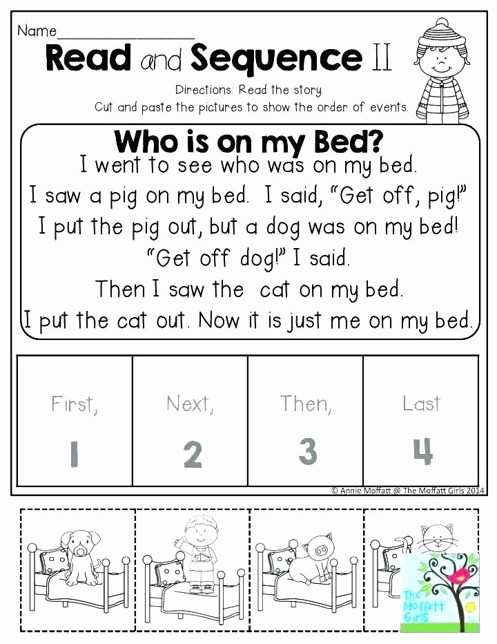 Sequence Worksheets for 1st Grade Printable Worksheets Free Story Sequencing 2nd Grade