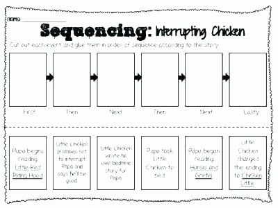 Sequence Worksheets for 1st Grade Story Sequence Worksheets 2 Sequencing First Grade for All