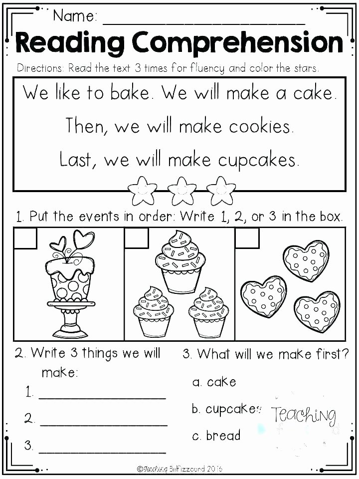 Sequence Worksheets for 3rd Grade First Grade Sequencing Worksheets