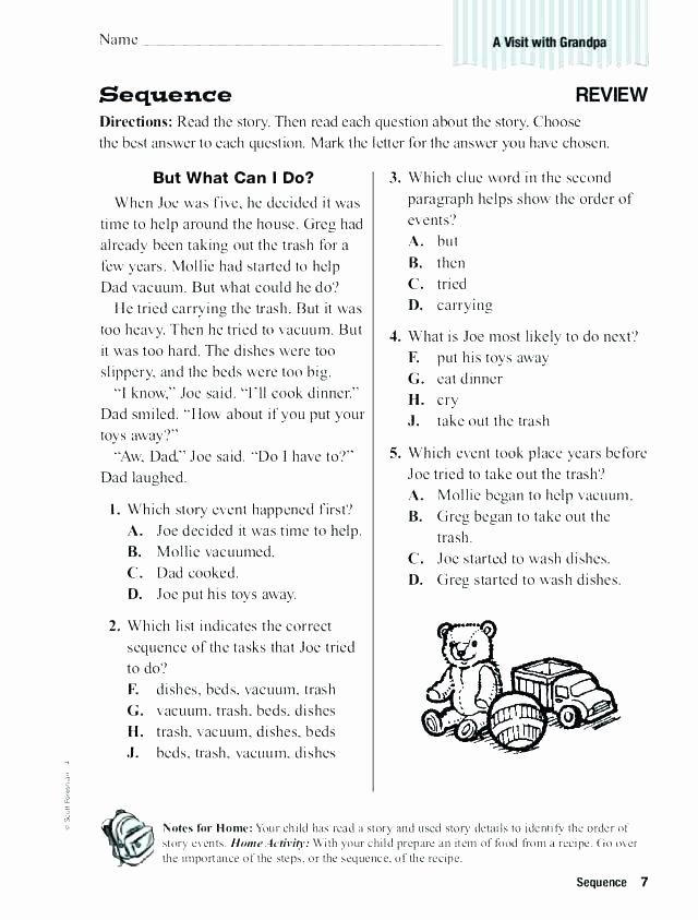 sequencing worksheet story worksheets pdf 3rd grade free for printable at events kindergarten sto