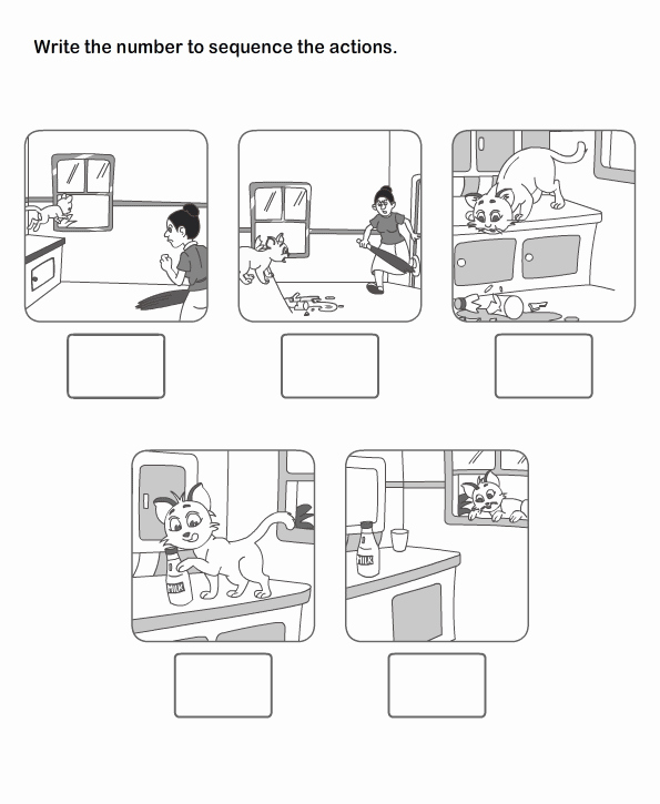 Sequencing events Worksheets Adrian Gervasio Adriangervasio9 On Pinterest