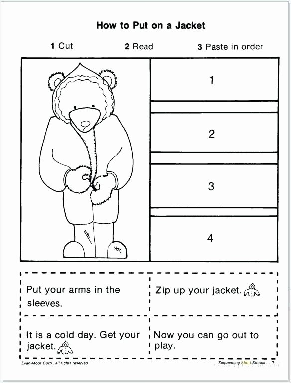 Sequencing events Worksheets Sequence events Story Worksheets Sequencing Grass