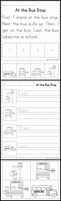 Sequencing Of events Worksheets 49 Best Sequencing Activities Images In 2019