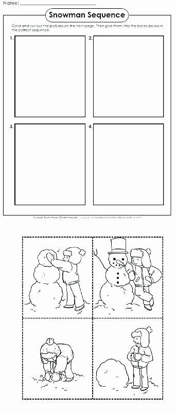 Sequencing Pictures Worksheet Sequencing Worksheets