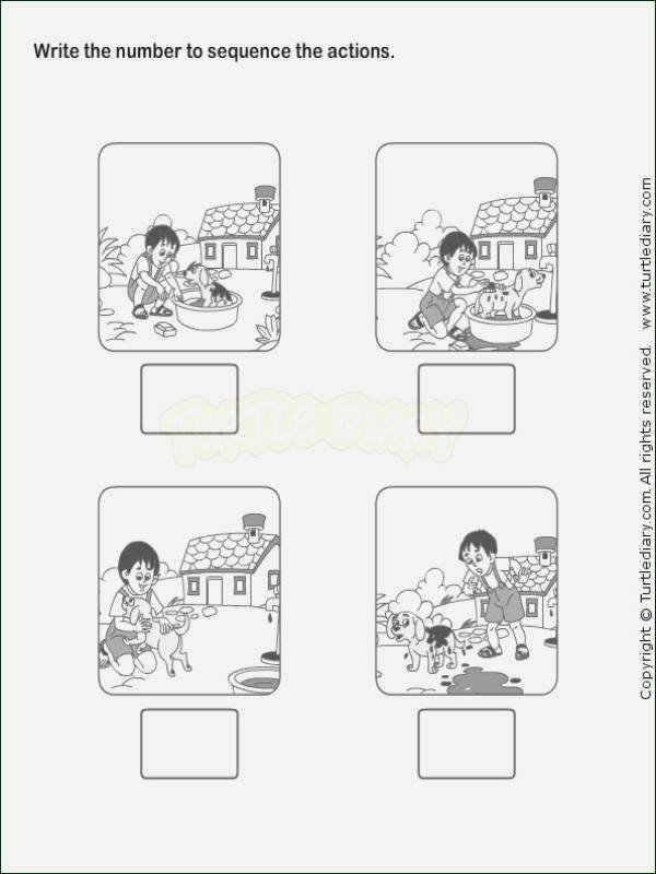 Sequencing Pictures Worksheets Sequencing Worksheets