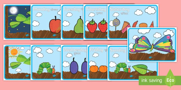 Sequencing Story Worksheets Support Teaching On the Very Hungry Caterpillar Story