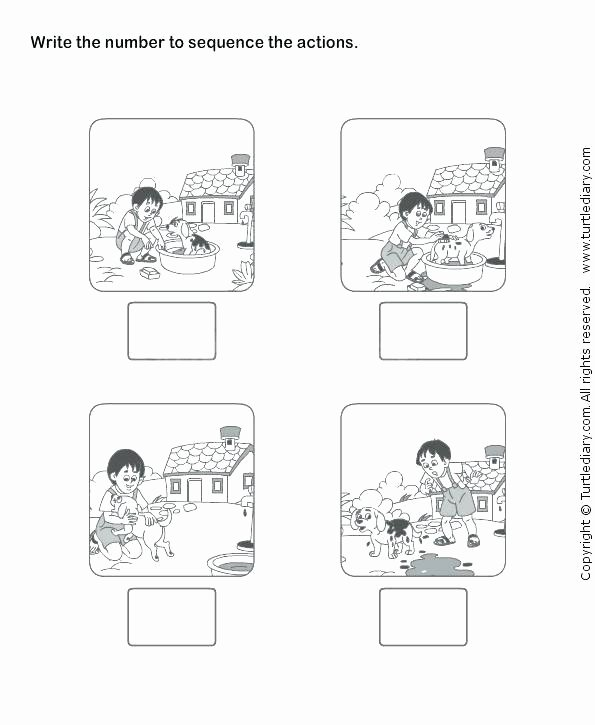 Sequencing Worksheet 2nd Grade Unique Kindergarten T Sequence Ts Elements First Grade Reading