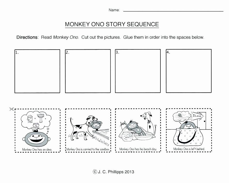 Sequencing Worksheet First Grade Free Printable Number Worksheets for Kindergarten